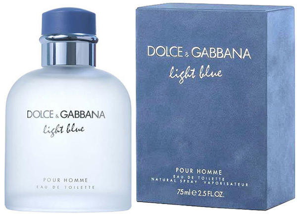 DOLCE&GABBANA LIGHT BLUE (M) 125ml edt