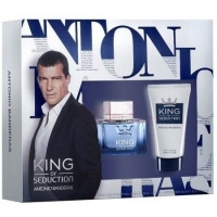 A.Banderas King of Seduction (M) set (50ml edt+бальзам/бр 50ml)